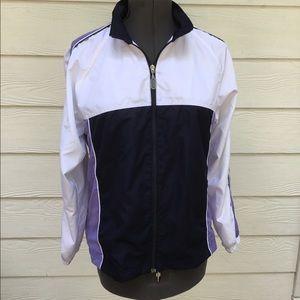 Classic Elements Women's zipper windbreaker jacket